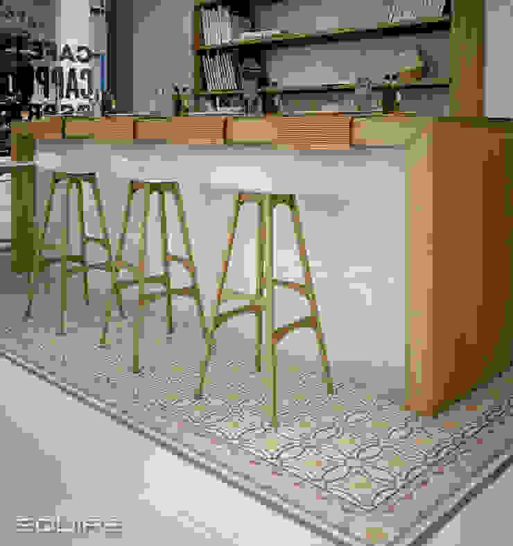 Caprice Cocinas de estilo ecléctico de Equipe Ceramicas Ecléctico Azulejos