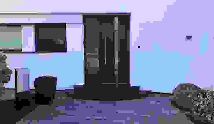 Szulzyk- Bauelemente pintu depan Aluminium/Seng
