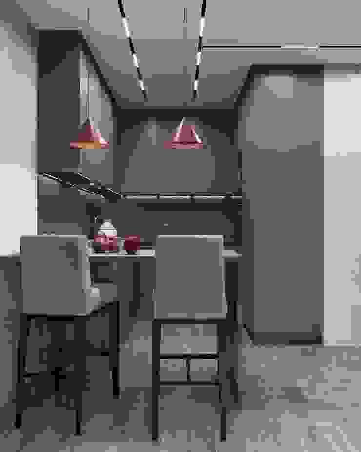 Cocinas de estilo minimalista de GM-interior Minimalista