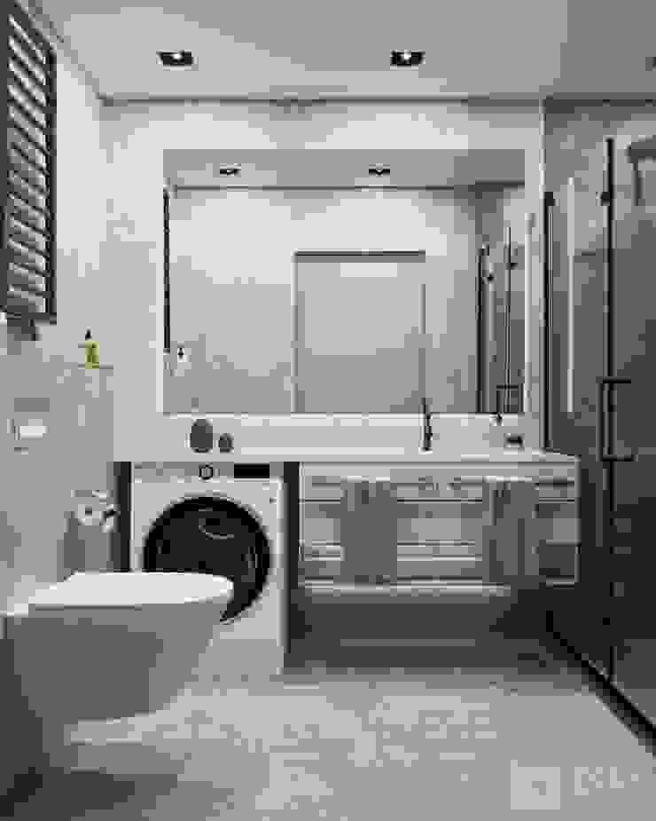 Baños de estilo minimalista de GM-interior Minimalista