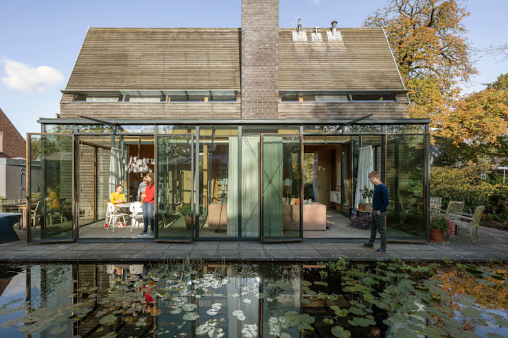 Grote serre van RHAW architecture Modern Hout Hout