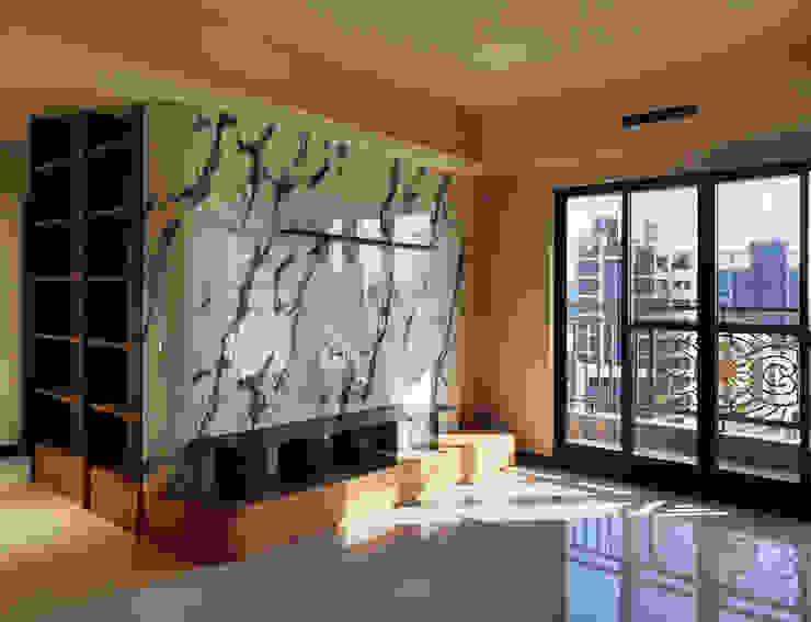 木皆空間設計 Salas de estilo minimalista