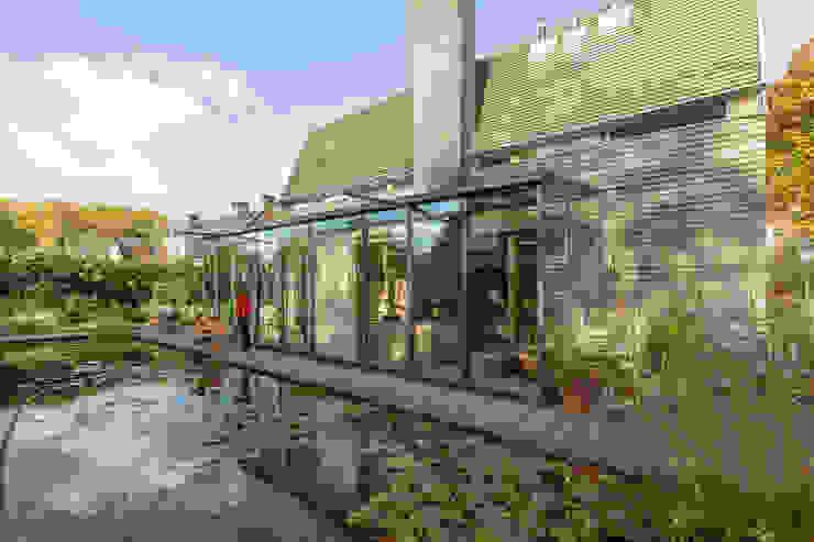 Vijver van RHAW architecture Modern Hout Hout