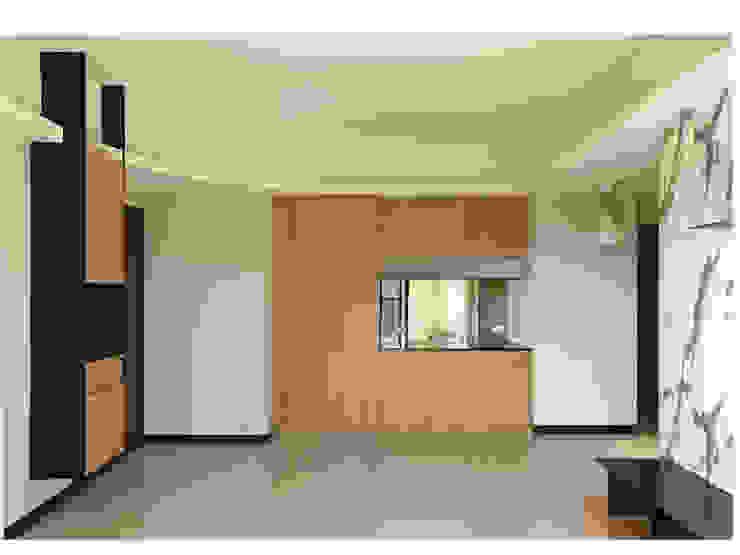 木皆空間設計 Comedores de estilo minimalista