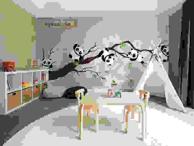 Bambu, Osos Panda de coverhouse Moderno