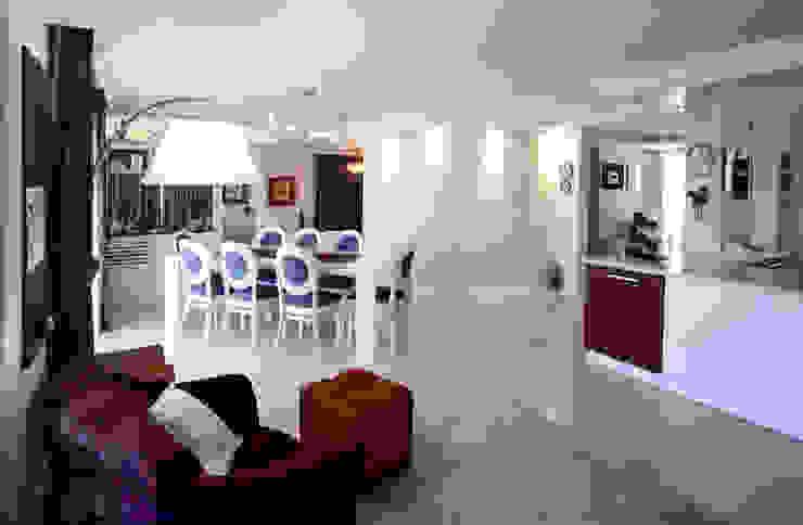 Ankara İncek'te Villa / Villa in İncek, Ankara Modern Oturma Odası YETKE Tasarım / YETKE DESIGN Modern