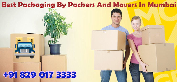 Packers And Movers Mumbai | Get Free Quotes | Compare and Save Ruang Studi/Kantor Tropis White