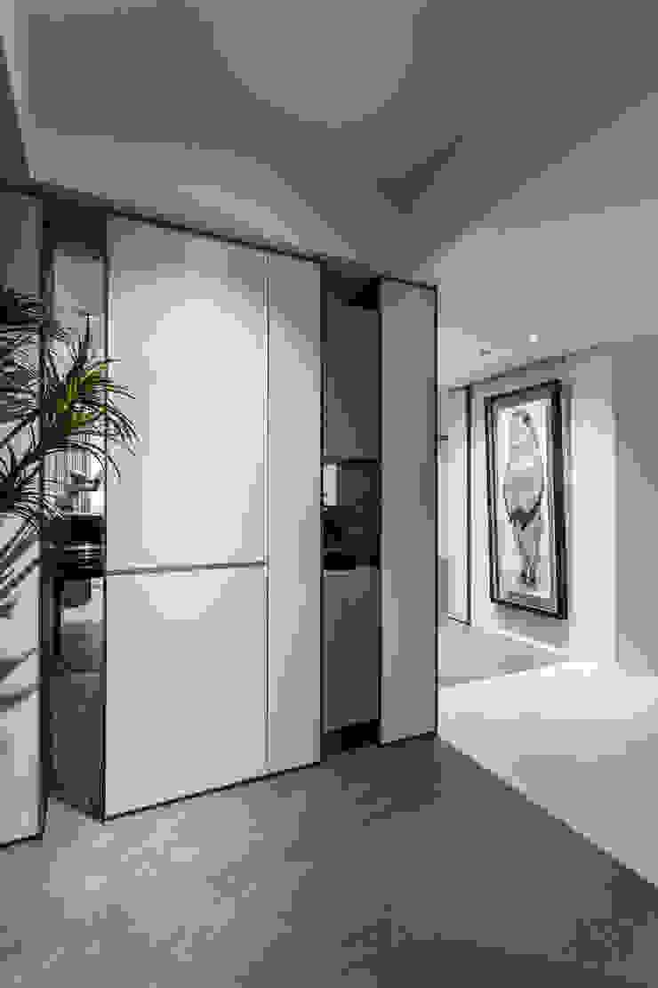 純粹 現代風玄關、走廊與階梯 根據 樹屋室內裝修設計有限公司 現代風