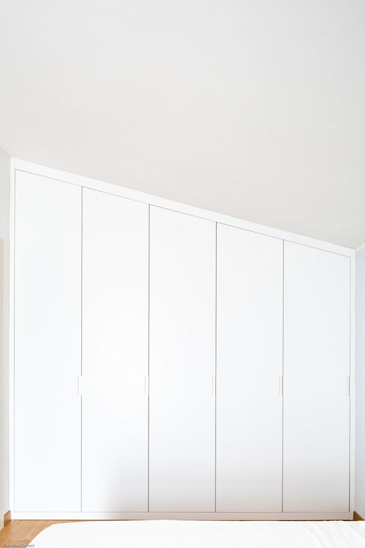 GruppoTre Architetti Kamar Tidur Modern