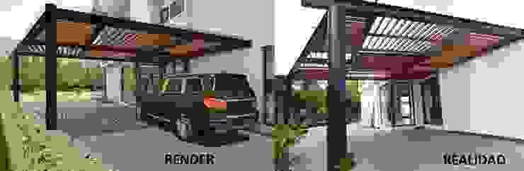 Render VS Realidad de dBLuM°C Project Management Moderno Aluminio/Cinc