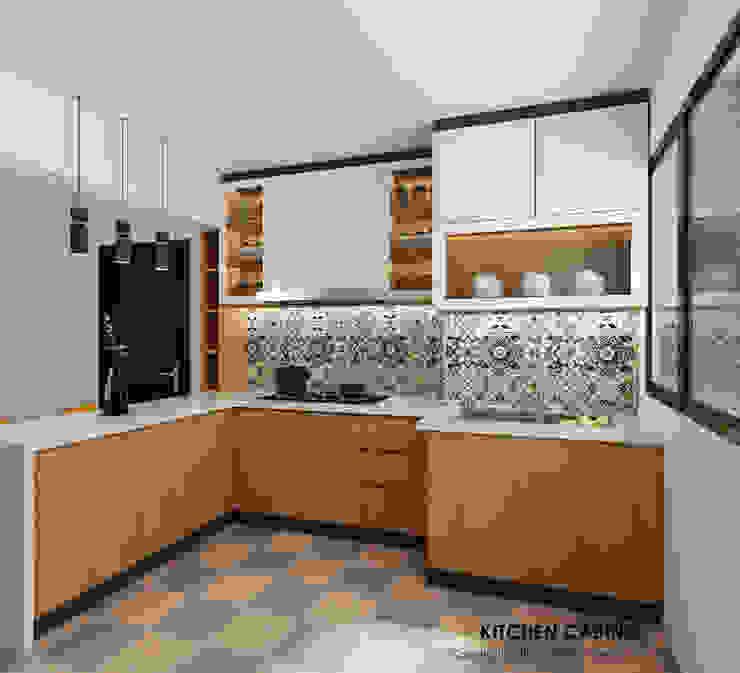 Open kitchen concept by Swish Design Works Modern Plywood