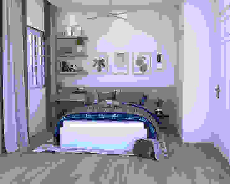 Swish Design Works Petites chambres Effet bois