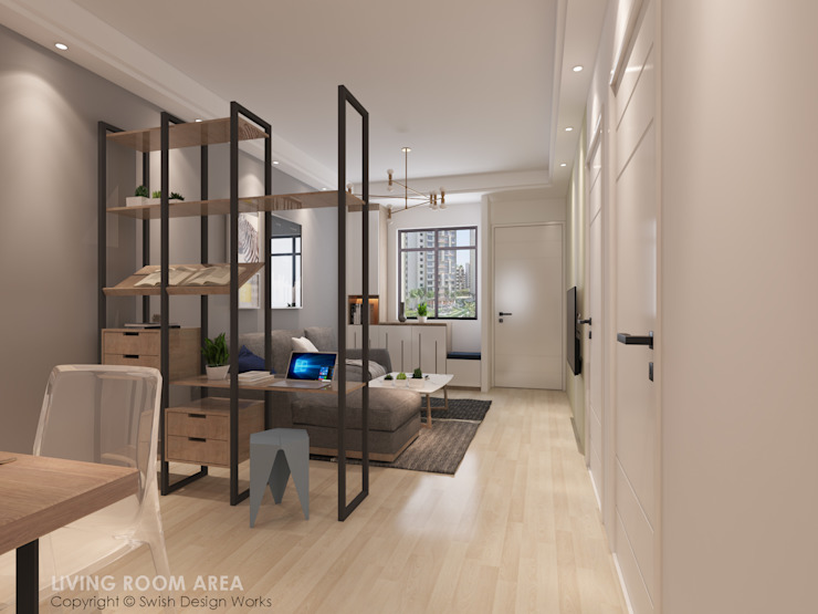 Living Area Swish Design Works Modern living room