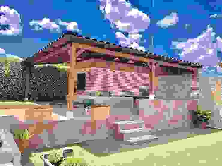Roofeco System SL Modern balcony, veranda & terrace Plastic Black