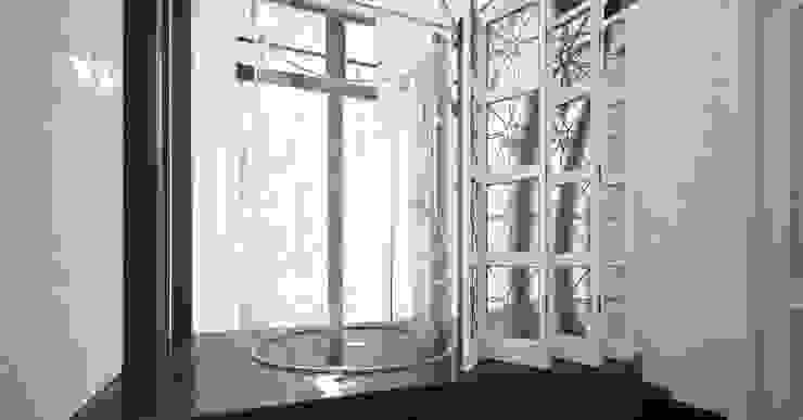 ДОМ 360 М2 В ЖК ВАТУТИНКИ (2016Г.) Ванная комната в стиле минимализм от МосАрх.рф Минимализм