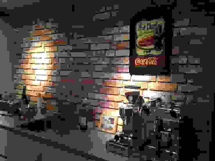Antik-Stein Industrial style kitchen Bricks