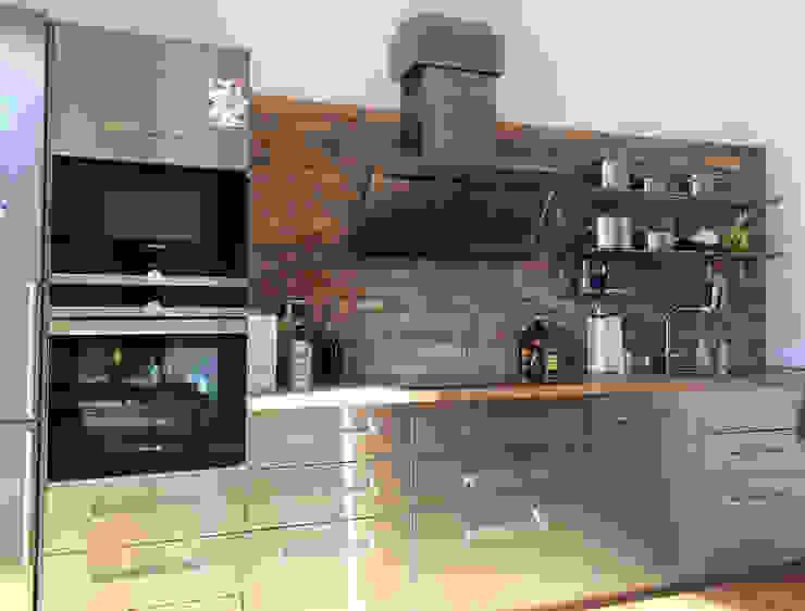 Antik-Stein Industrial style kitchen Bricks Yellow