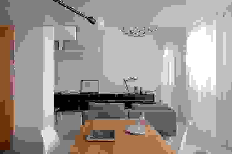 Living Tommaso Giunchi Architect Soggiorno in stile industriale