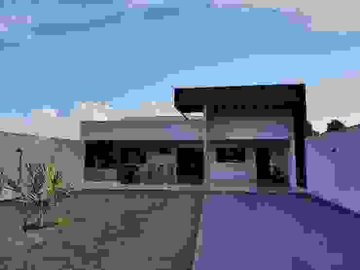 Monteiro arquitetura e interiores Casas pequeñas