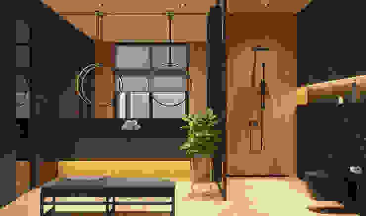Ванная комната II этаж Ванная комната в стиле минимализм от Кузьмин Алескей Минимализм