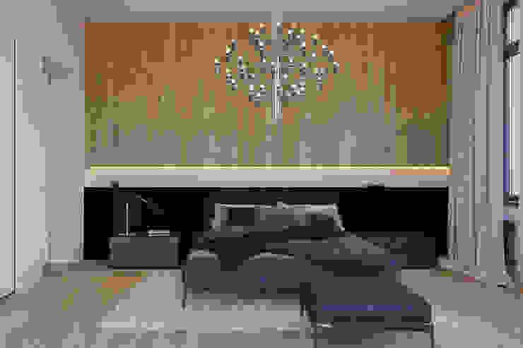 Спальня Спальня в стиле минимализм от Кузьмин Алескей Минимализм
