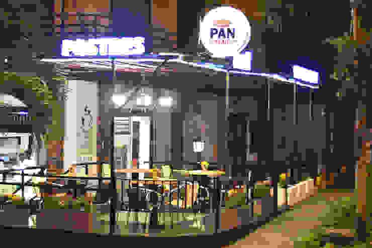 Diseño de panadería para Pan comido sede granada. de Nuvú - Lideres en espacios comerciales. Rústico