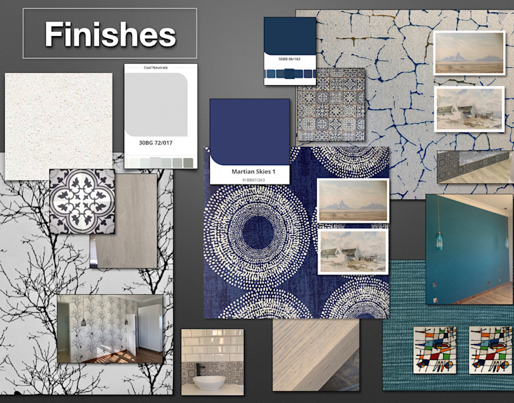 Presentation CS DESIGN Eclectic style living room