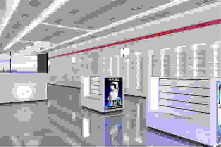 تصميم وتنفيذ اعمال التشطيب لصيدلية بمول العرب : حديث  تنفيذ تريبل فيجن, حداثي