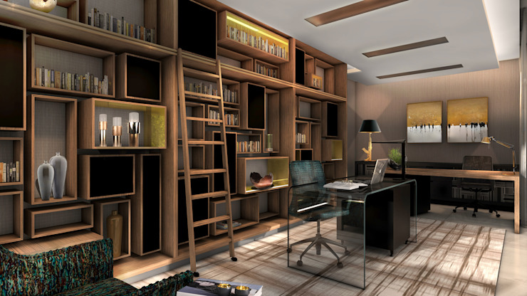 Study by Spegash Interiors Modern