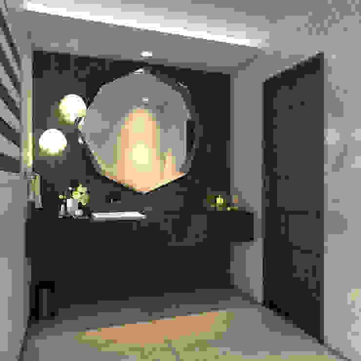 Guest Toilet Modern bathroom by Spegash Interiors Modern