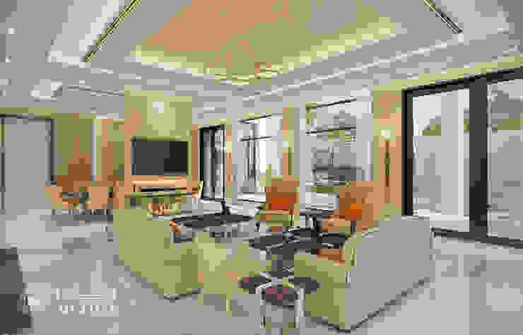 تصميم غرفة المعيشة من Algedra Interior Design حداثي