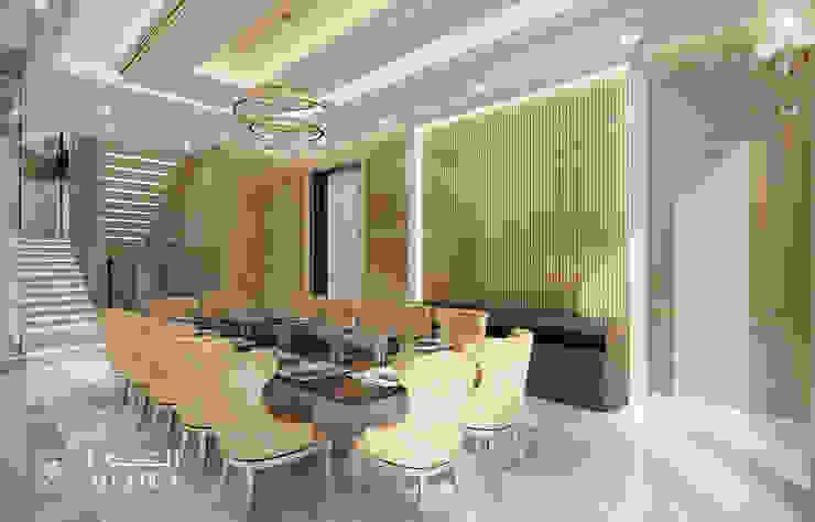 غرفة الطعام في فيلا فاخرة من Algedra Interior Design حداثي