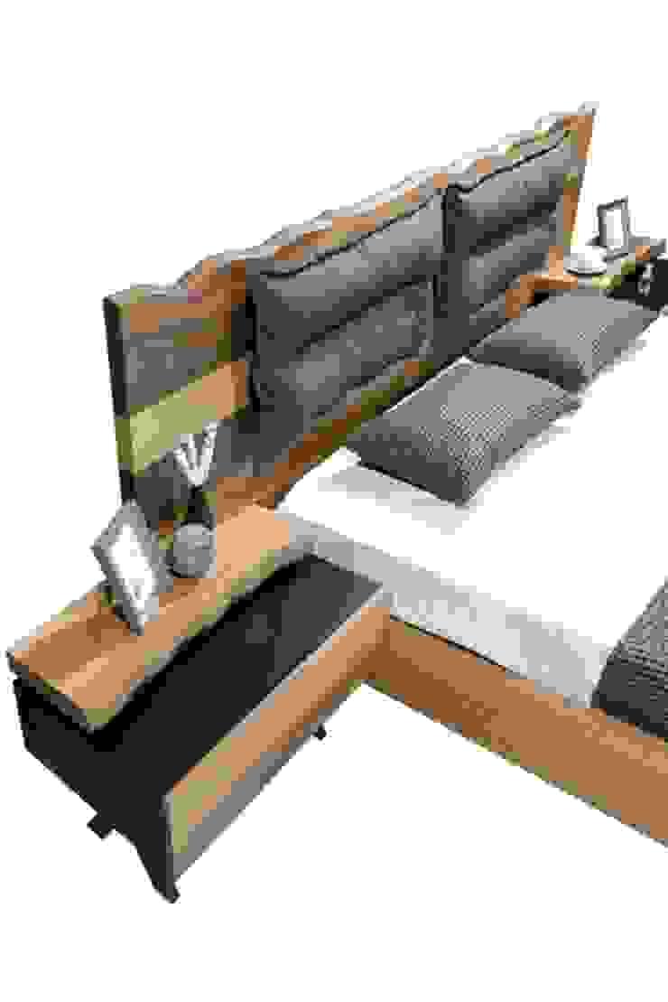 esas mobilya  – optimus karyola: modern tarz , Modern Ahşap Ahşap rengi