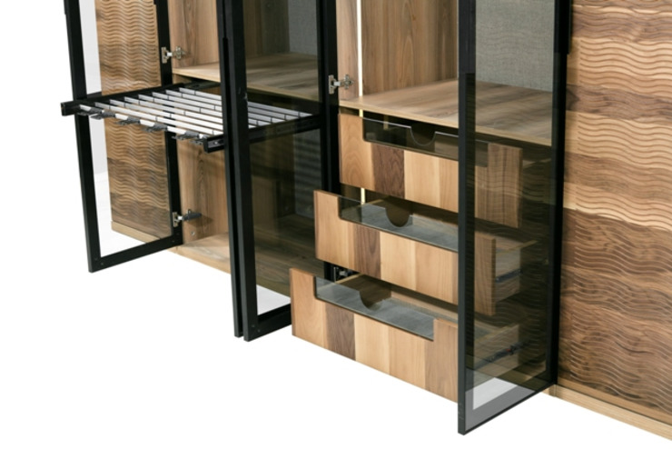 esas mobilya  – optimus dolap: modern tarz , Modern Ahşap Ahşap rengi