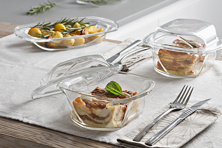 Vidivi - Vetri delle Venezie ห้องครัวช้อนส้อม จานชามและเครื่องแก้ว กระจกและแก้ว Transparent