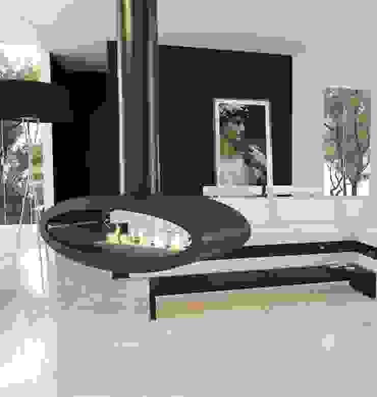 Hängekamin Ellipse von Decoflame Ausgefallene Wohnzimmer von RF Design GmbH Ausgefallen