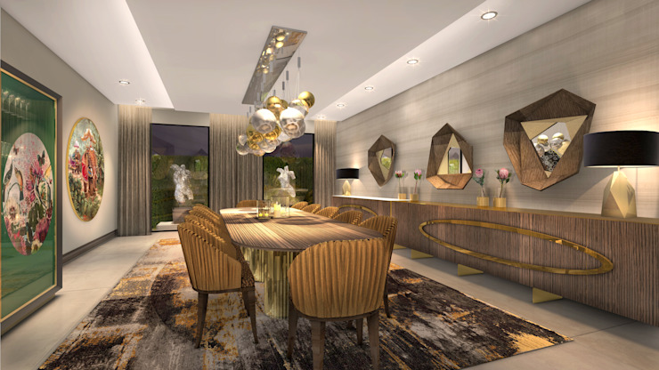 Dining Room Modern dining room by Spegash Interiors Modern