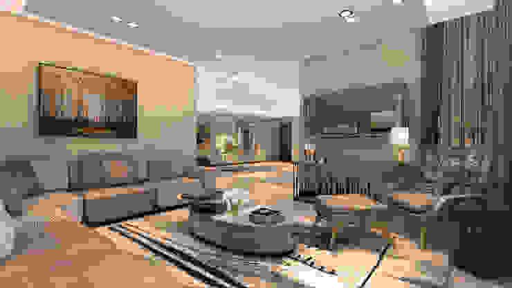 Formal Lounge Modern living room by Spegash Interiors Modern