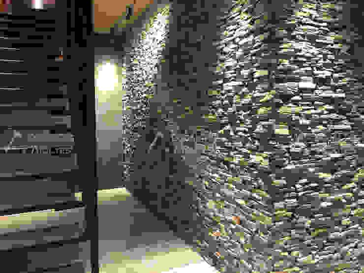 Doğaltaş Atölyesi Paredes y suelos de estilo moderno Piedra Gris