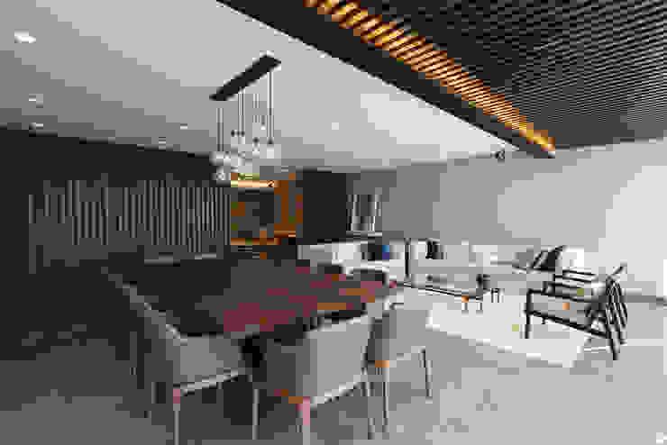 Modern Dining Room by ARCO Arquitectura Contemporánea Modern