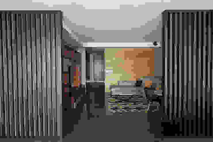 Modern Media Room by ARCO Arquitectura Contemporánea Modern
