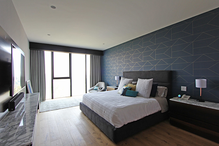 Modern Bedroom by ARCO Arquitectura Contemporánea Modern