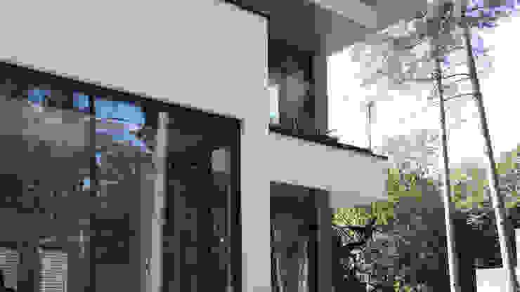 WONING BOS UYTERLINDE AMERSFOORT ddp-architectuur Balkon Glas Wit