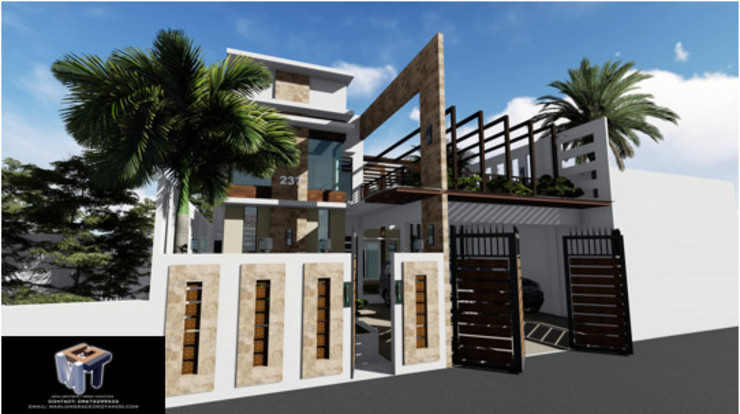 2 STOREY RESIDENTIAL BUILDING MGTua Architects + Design Innovations