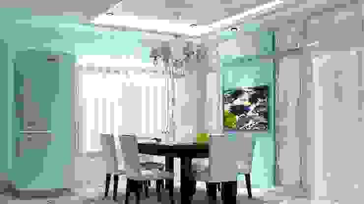 ออกแบบตกแต่งภายในบ้าน 2 ชั้น ม.ลัดดารมณ์ ถ.ราชพฤกษ์: ทันสมัย  โดย PROFILE INTERIOR STUDIO, โมเดิร์น แกรนิต