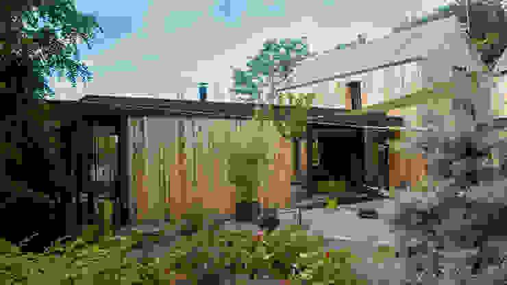 RUSTICASA Casas de madera Madera Acabado en madera