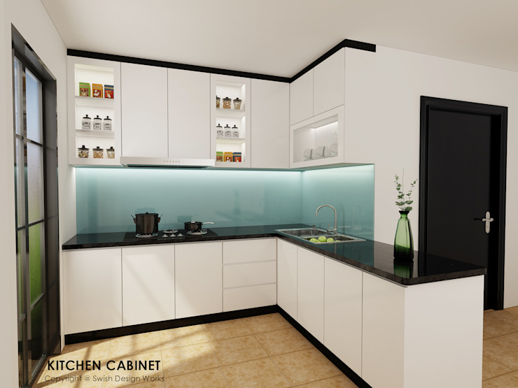 Kitchen Eclectic style kitchen by Swish Design Works Eclectic Plywood