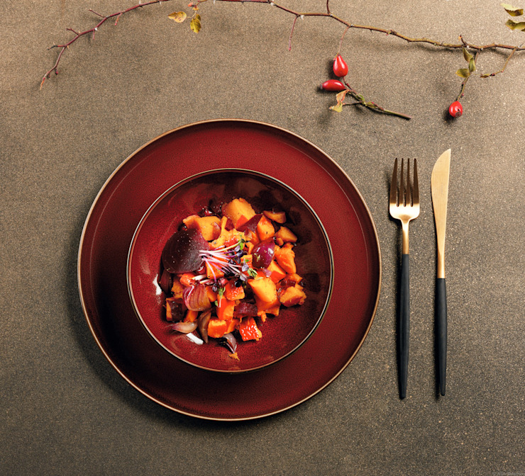 In&Out Cooking KitchenCutlery, crockery & glassware Ceramic Red