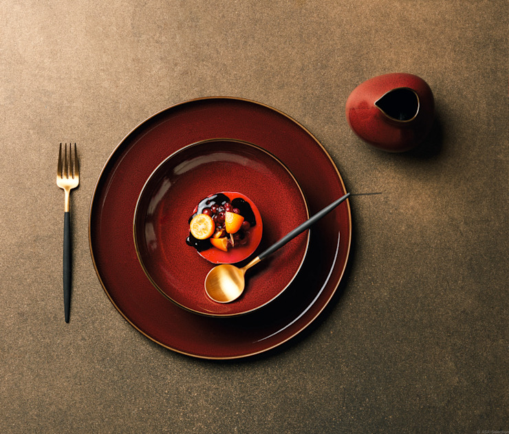 In&Out Cooking KitchenCutlery, crockery & glassware Amber/Gold