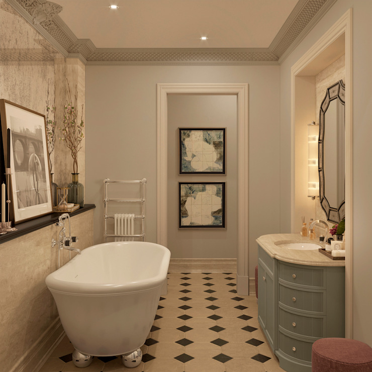 MARION STUDIO Classic style bathroom